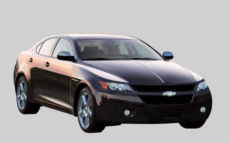 2009 Chevrolet Impala Front